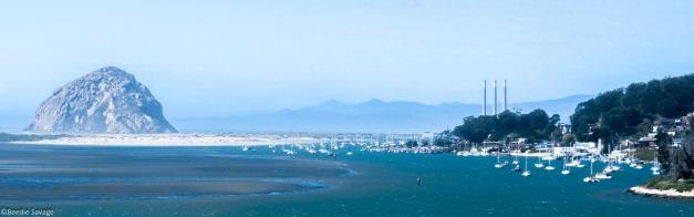 Morro Bay and Morro Bay Rock