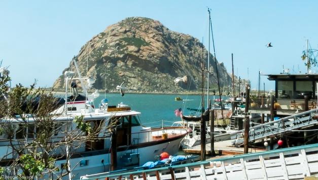 Port Morro Bay, Morro Rock and Fresh Fish