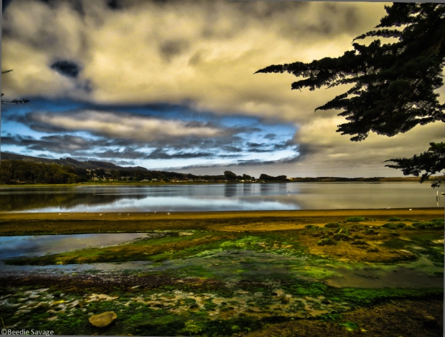 Clouds over the Bay (HDR - click to enlarge)