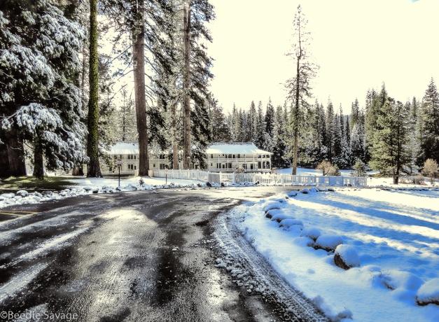Historic Wawona Hotel Yosemite National Park-