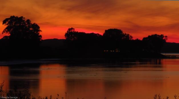 Sunset 1-17-2012