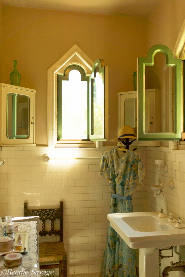 Hearst Castle Cottage Bathroom