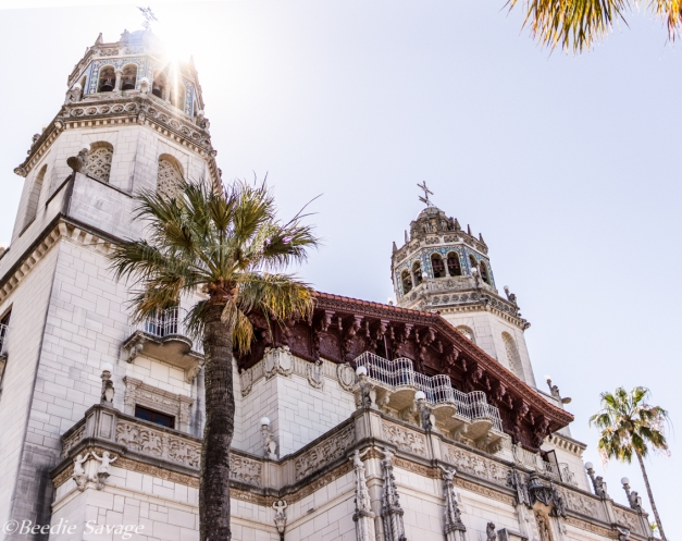 Hearst Castle in the Sun