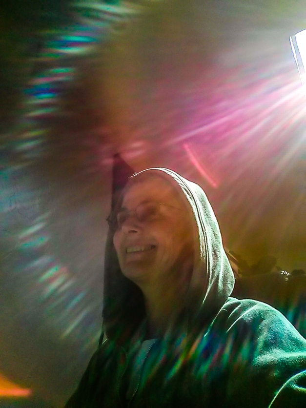 Sun Ray Selfie Surprise
