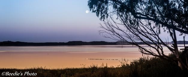 Full Moon Over Bay