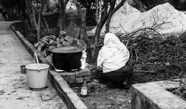 Dhamma Cakka Sarnath Hot Water for Bath