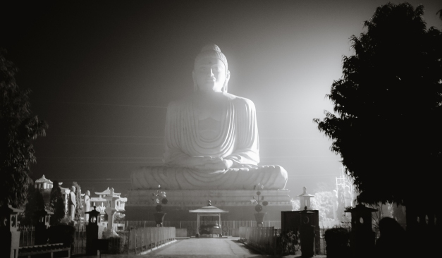80 ft Buddha - evening photography