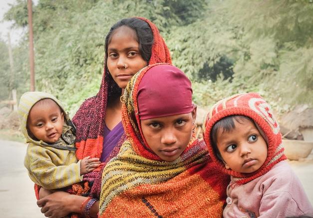 a Family in Kapilavastu, Nepal